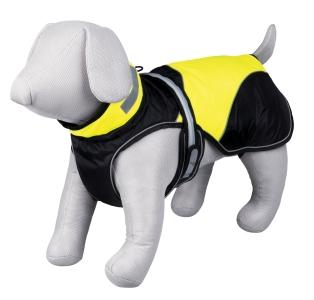 Trixie Mantel Safety Flash, schwarz-gelb, Rückenlänge: 45cm