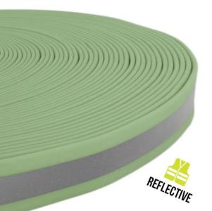 TPU Reflect Gurtband Meterware 25mm x 2,5mm - Kopie