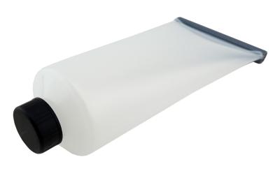 1 Stk. Futtertube, Squeeze Tube, 200ml mit Metallverschluß