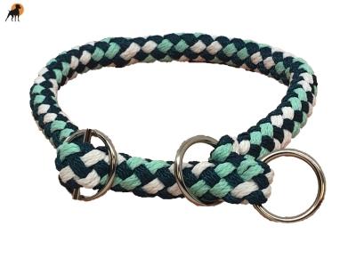 G2 Tauwerk Halsband Sport 20mm, rund geflochten, stufenlos verstellbar, Peppermint