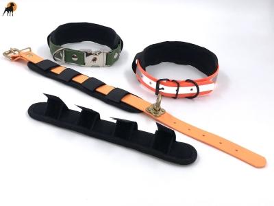 Neoprenschoner für Halsband und Leine 25 x 4cm, schwarz