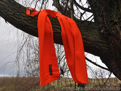 Farm-Land Fleece-Schal, Signalorange