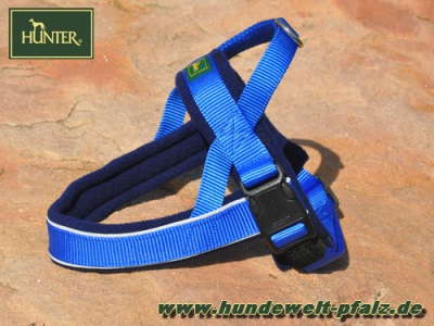 Hunter Norwegergeschirr Racing, Gr. M, Blau