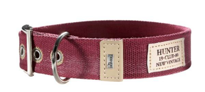 Hunter Canvas Halsband New Orleans 38mm, rot