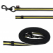 Sportleine Fusion Sporting gummiert 17mm x 100cm, o.HS, Karabiner MESSING