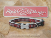 Red Dingo Halsband 12mm, Lots-a-Bones