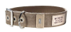 Hunter Canvas Halsband New Orleans 38mm, taupe